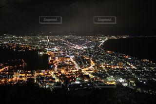 函館山からの函館の夜景の写真・画像素材[1787482]