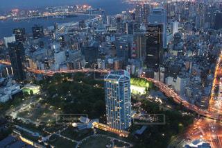 東京のトワイライトの写真・画像素材[1197748]