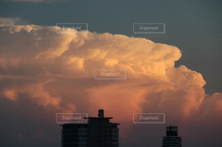 雲の波の写真・画像素材[1204785]