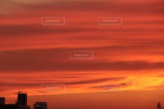 夕暮れのストライプの写真・画像素材[1298821]
