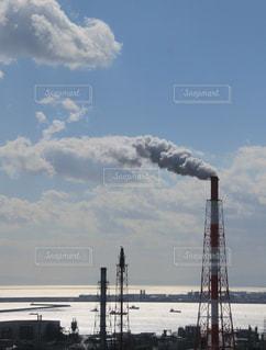 雲の工場の写真・画像素材[1361330]