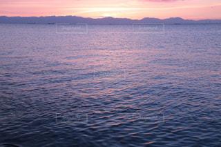穏やかな海の写真・画像素材[1388712]
