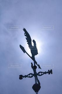 風見鶏の写真・画像素材[1416697]