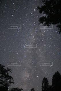 天の川の写真・画像素材[1424673]