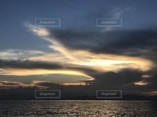 夕空アートの写真・画像素材[1466690]