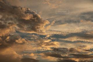迫力の夕空の写真・画像素材[1498959]