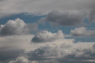 雲の上の写真・画像素材[1677186]