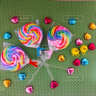 キャンディとチョコレートの写真・画像素材[1168660]