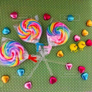 キャンディとチョコレートの写真・画像素材[1168662]