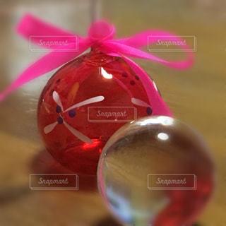 ガラス玉とビードロの写真・画像素材[1174595]