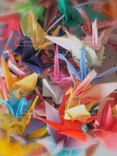 折り鶴の写真・画像素材[1218987]