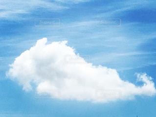 くじら雲みたいな空の写真・画像素材[1245382]