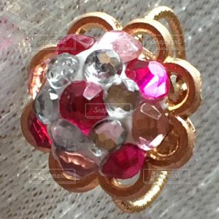 ハンドメイドの指輪の写真・画像素材[1259265]