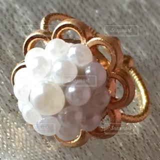 ハンドメイドの指輪の写真・画像素材[1259266]