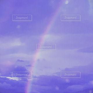 夕日と虹の写真・画像素材[1348298]