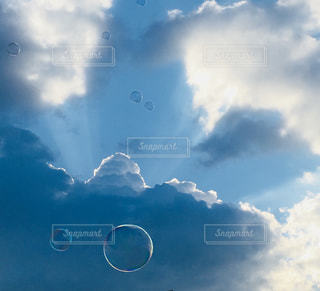 カッコイイ雲でしたの写真・画像素材[1355570]