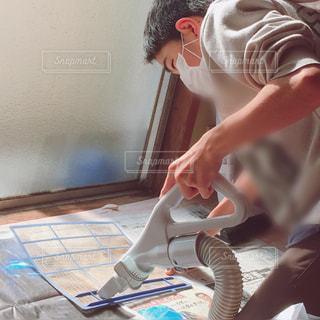 フィルターの掃除の写真・画像素材[1729226]