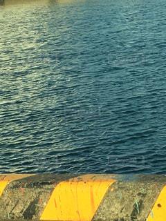 夕暮れ前の港の写真・画像素材[1772131]