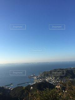 山と海は空と近いの写真・画像素材[1114236]