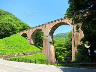 めがね橋の写真・画像素材[1114126]