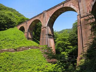 めがね橋の写真・画像素材[1114130]