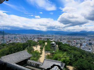 松山城の写真・画像素材[1114346]