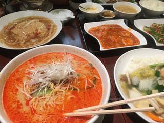 中華料理がたくさんの写真・画像素材[1113274]