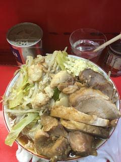 ラーメン二郎 三田本店 大豚Wの写真・画像素材[1113315]