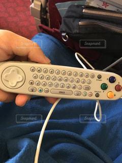 飛行機のコントローラー リモコンの写真・画像素材[1113534]