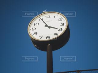 大きな時計の写真・画像素材[1119125]