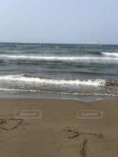 近くの砂浜のビーチ - No.1113666