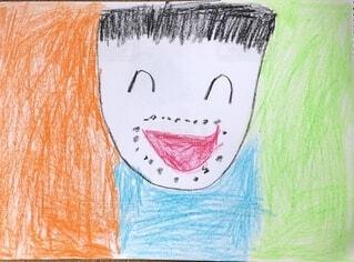 小学生低学年が書いたおとうさん画の写真・画像素材[4791568]
