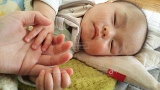 赤ちゃんの手の写真・画像素材[1118018]