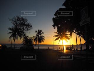 アンスバタの夕暮れの写真・画像素材[1991120]