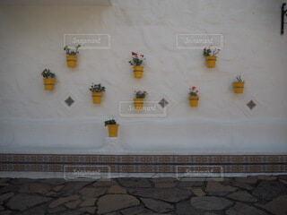 地中海村の映えスポットの写真・画像素材[3767238]