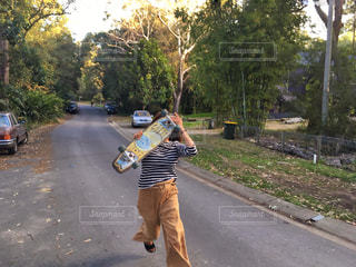 スケートボードの写真・画像素材[1117311]