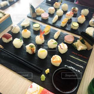 お寿司ランチの写真・画像素材[1116324]