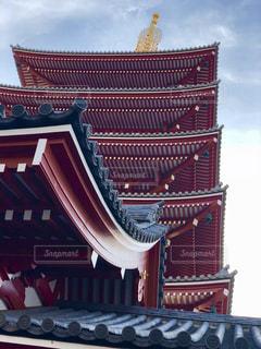 浅草五重の塔の写真・画像素材[1116369]