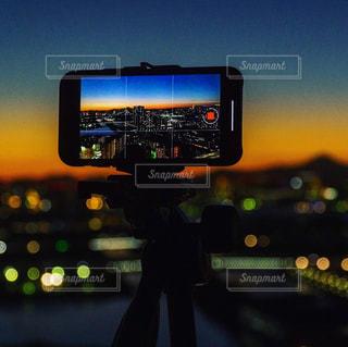 夜景撮影の写真・画像素材[1116992]
