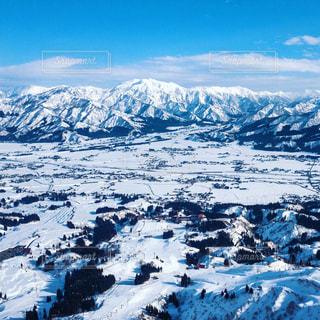 新潟の雪山の写真・画像素材[1116996]