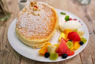 フルーツパンケーキの写真・画像素材[1418336]