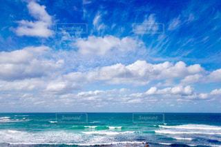 海の横にある水します。の写真・画像素材[1615472]