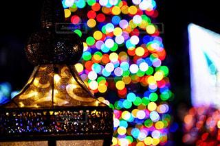 クリスマスイルミネーションの写真・画像素材[1649550]