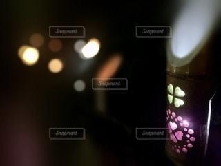 竹灯籠の写真・画像素材[2632002]