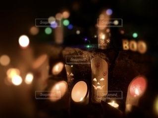 竹灯籠の写真・画像素材[2632008]