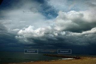 雨空の写真・画像素材[3478638]