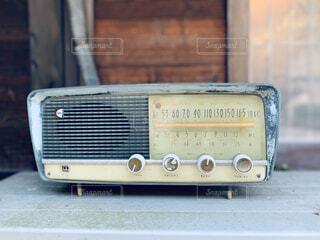 ラジオの写真・画像素材[3931158]