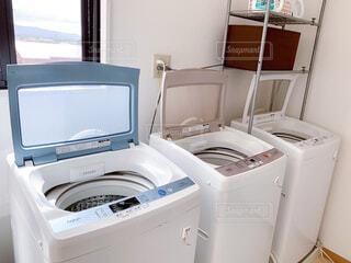 洗濯機の写真・画像素材[4376120]