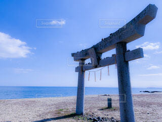 蓑島の写真・画像素材[4400464]