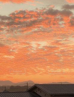 夕焼けの写真・画像素材[4412158]
